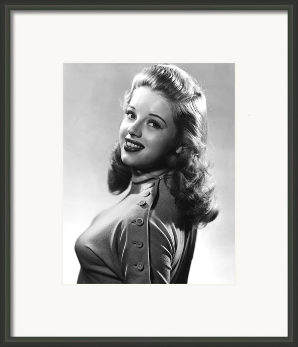 Dance Hall, Diana Dors, 1950 Framed Print By Everett