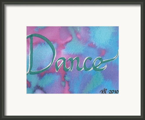 Dance Framed Print By Kristina Kannarr