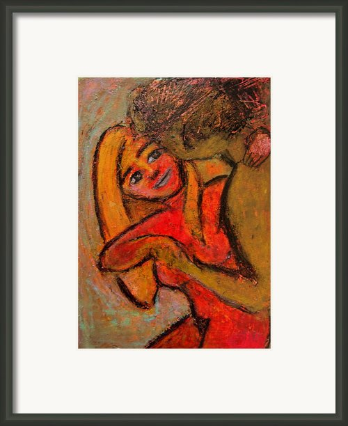 Dance Me To The End Of Love Framed Print By Tammy Cantrell