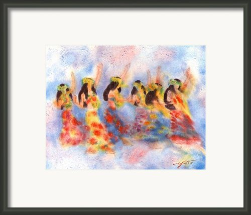 Dance Of Paradise Framed Print By John Yato