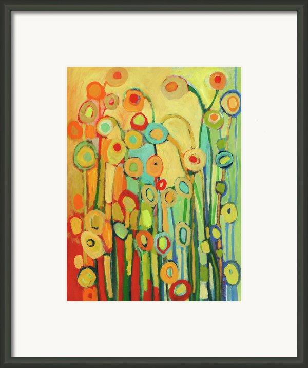 Dance Of The Flower Pods Framed Print By Jennifer Lommers