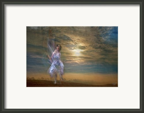 Dance With Me Framed Print By Renata Vogl