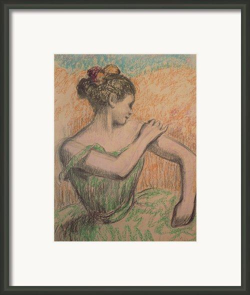 Dancer Framed Print By Degas