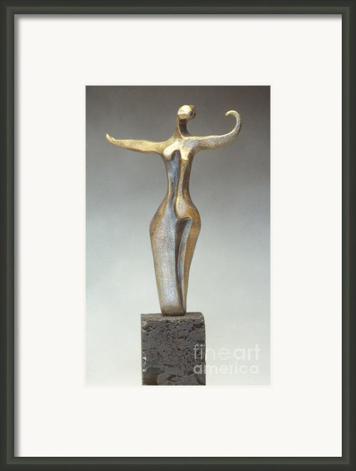 Dancer Framed Print By Judith Birtman