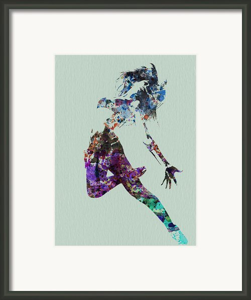 Dancer Watercolor Framed Print By Irina  March