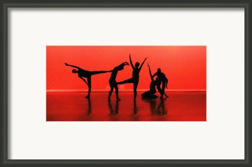 Dancing In Red Framed Print By Kenneth Mucke