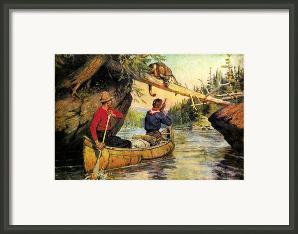Dangerous Encounter Framed Print By Jq Licensing
