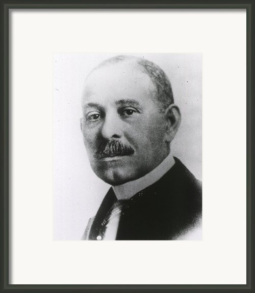 Daniel H. Williams 1856-1931 Framed Print By Everett