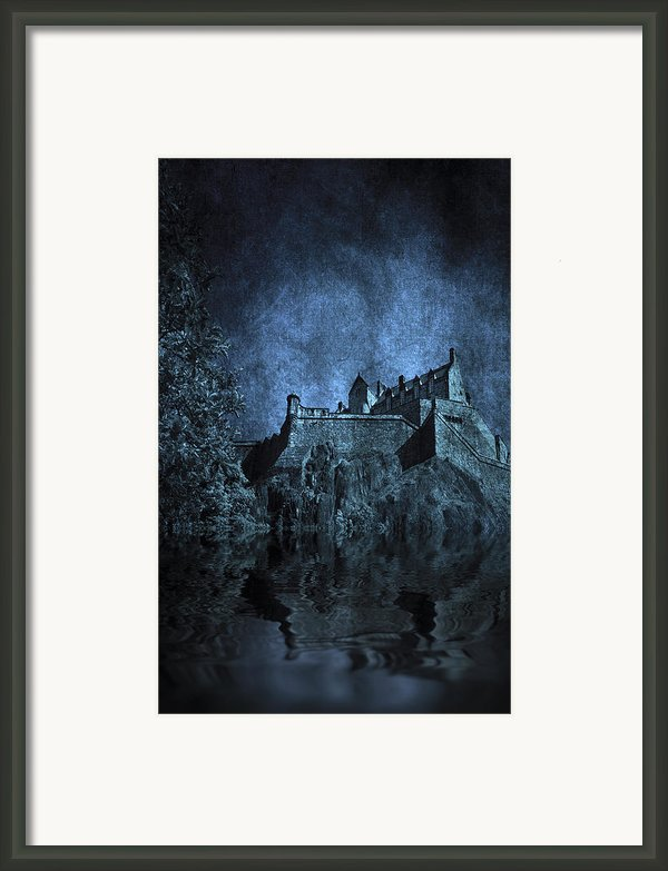 Dark Castle Framed Print By Svetlana Sewell
