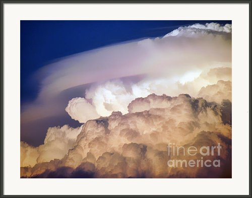 Dark Clouds - 2 Framed Print By Graham Taylor