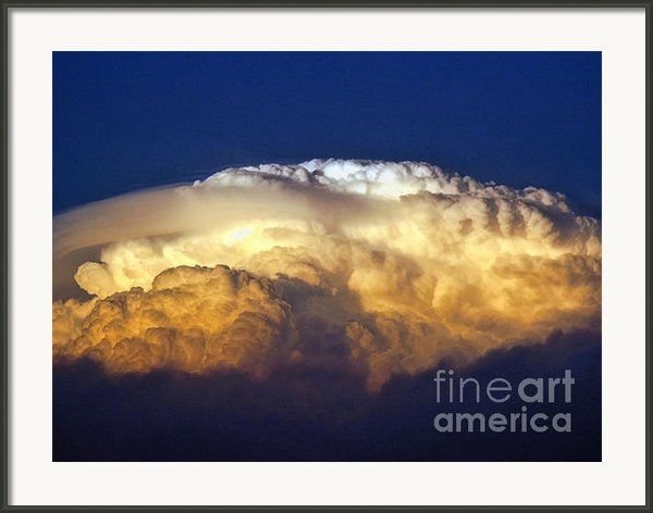 Dark Clouds - 3 Framed Print By Graham Taylor