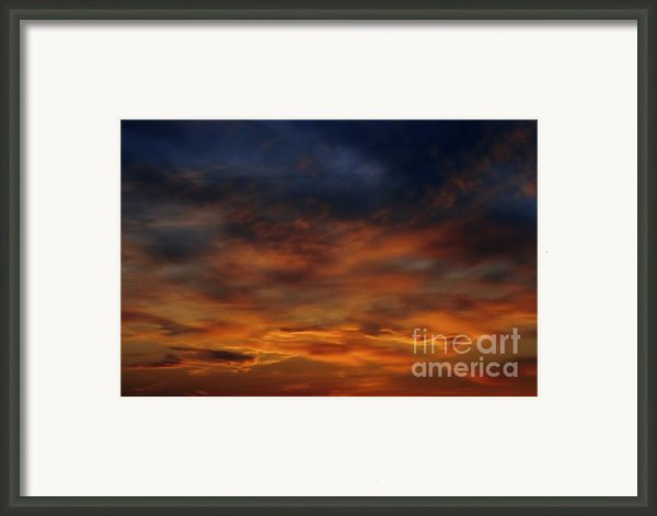Dark Clouds Framed Print By Michal Boubin