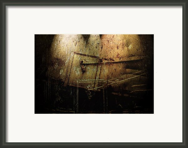 Dark Door Framed Print By Janet Kearns