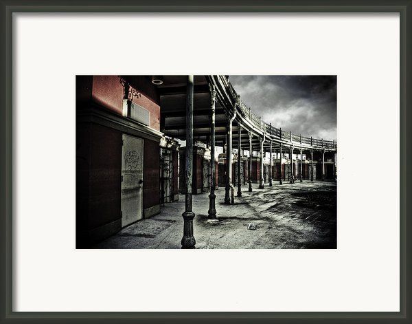 Dark Entrance Framed Print By Pixel Perfect By Michael Moore
