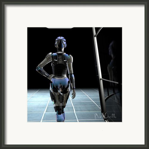 Dark Hall Framed Print By Bob Orsillo