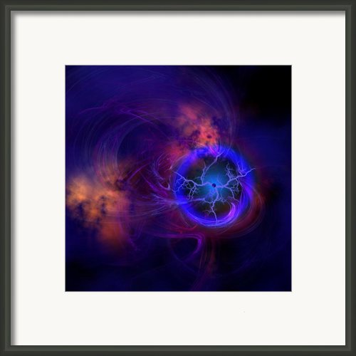 Dark Matter Framed Print By Corey Ford