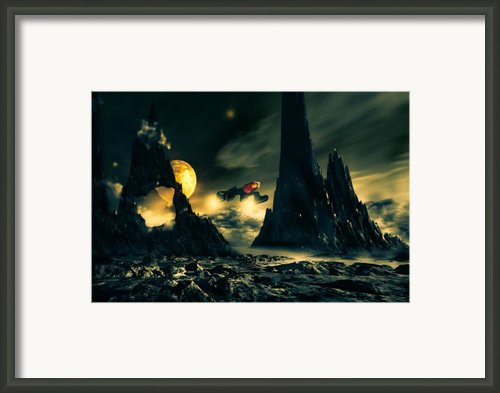 Dark Planet Framed Print By Bob Orsillo