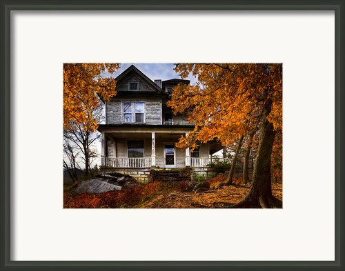 Dark Shadows Framed Print By Debra And Dave Vanderlaan