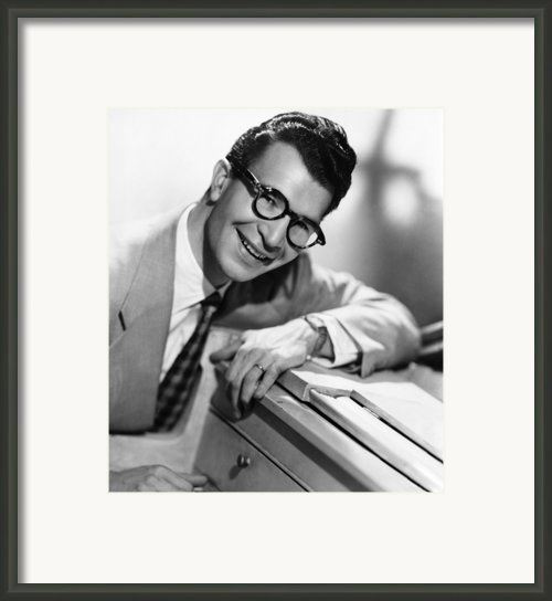 Dave Brubeck, 1950s Framed Print By Everett