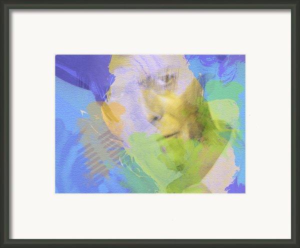 David Bowie Framed Print By Irina  March