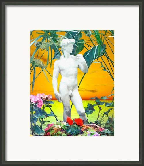 David Framed Print By Kurt Van Wagner