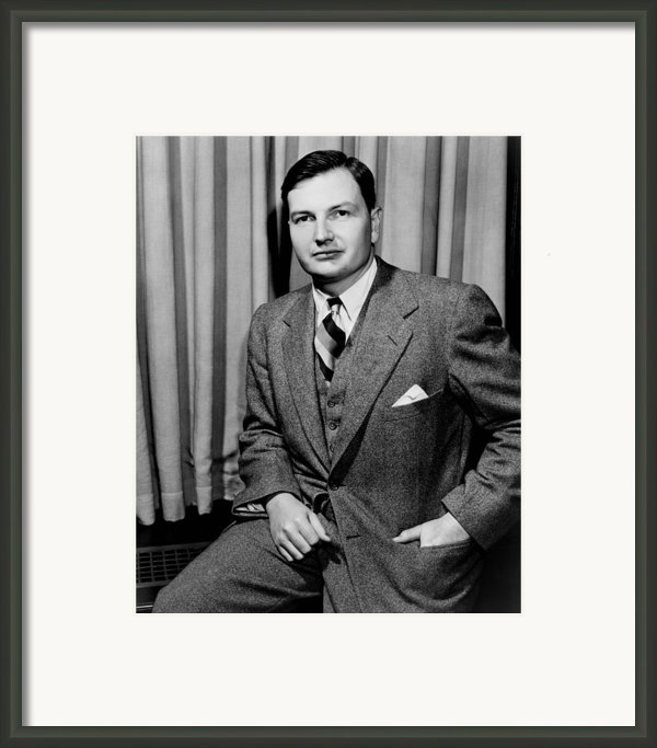 David Rockefeller B. 1915 Grandson Framed Print By Everett