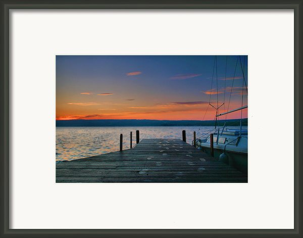 Dawn Breaking Framed Print By Steven Ainsworth