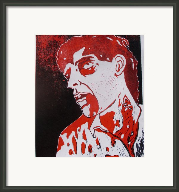 Dawn Of The Dead Print 1 Framed Print By Sam Hane