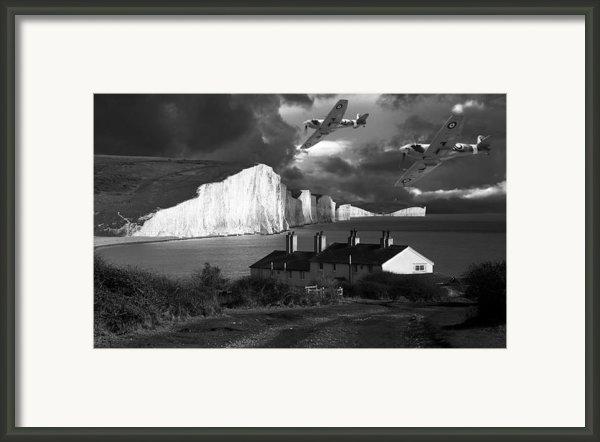 Dawn Patrol Framed Print By Kris Dutson