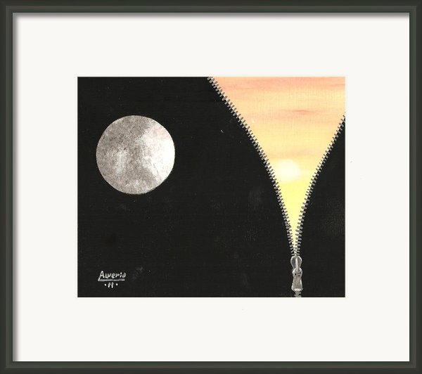 Day And Night Framed Print By Edwin Alverio