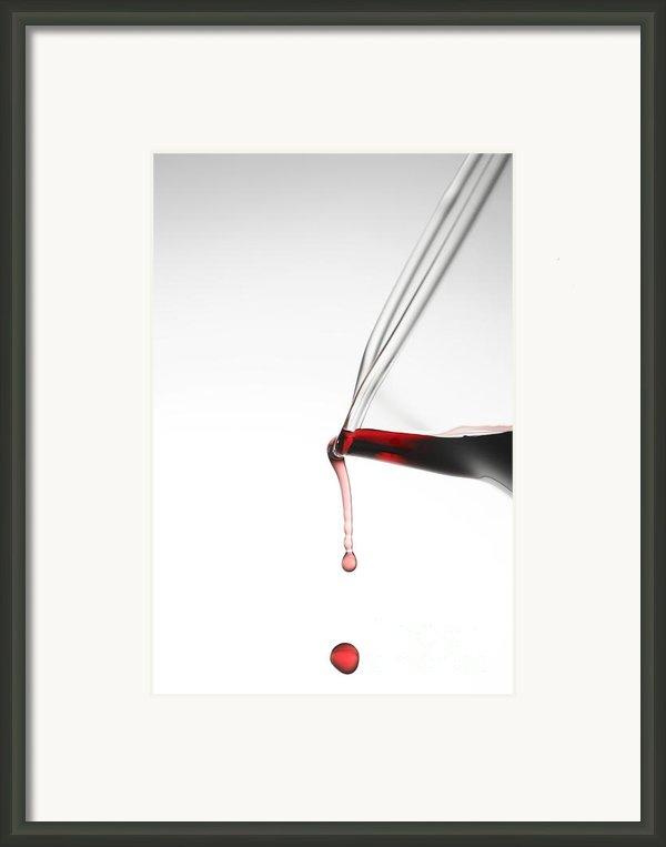 Decanter Framed Print By Frank Tschakert