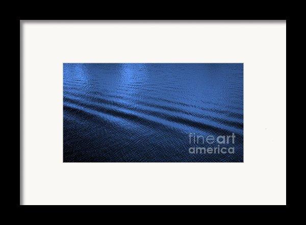 Deep Blue Sea Framed Print By Carol Groenen