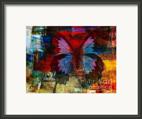 Defining Something Framed Print By Fania Simon