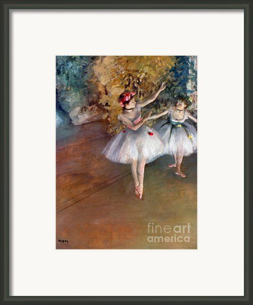 Degas: Dancers, C1877 Framed Print By Granger