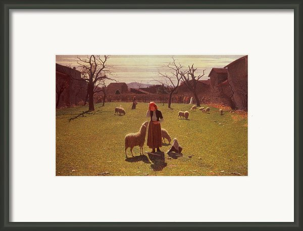 Deluded Hopes Framed Print By Giuseppe Pellizza Da Volpedo