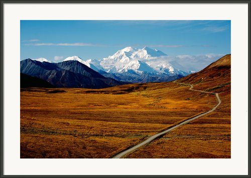 Denali Framed Print By Graham Clark