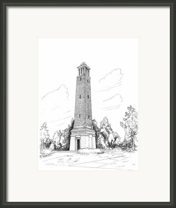 Denney Chimes Framed Print By Barney Hedrick
