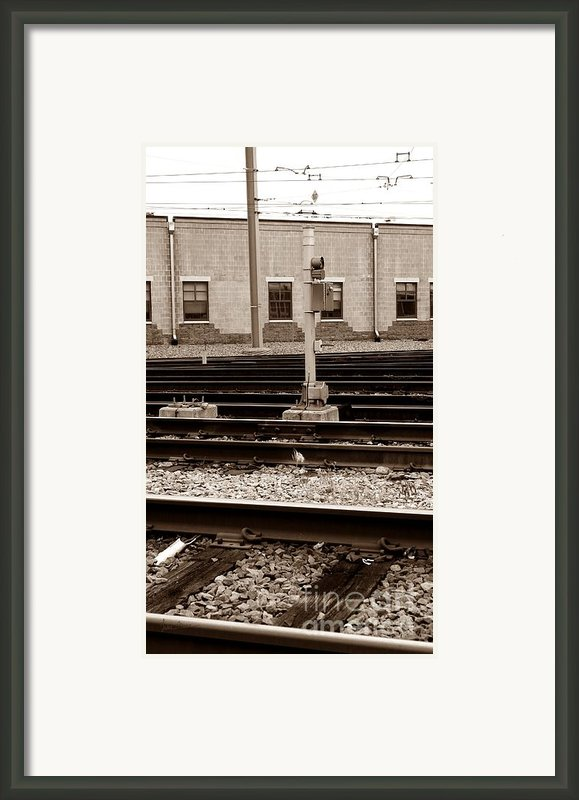 Depot Framed Print By Luke Moore