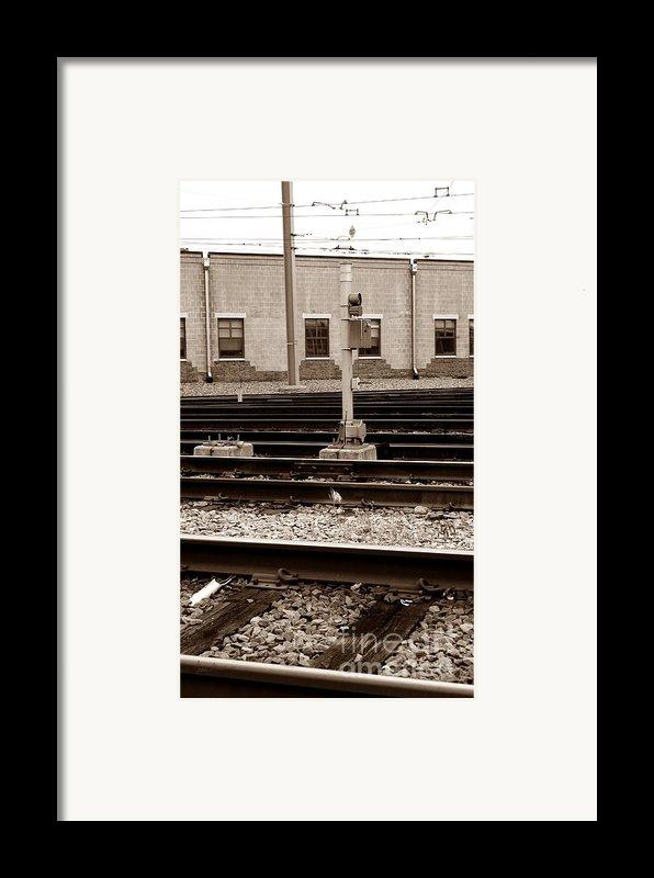 Depot Framed Print By Luke Moore