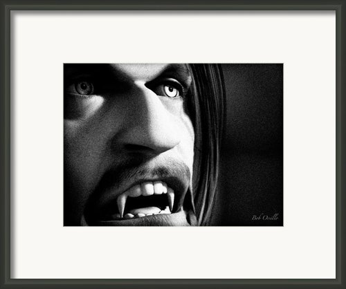 Der Vampir Framed Print By Bob Orsillo