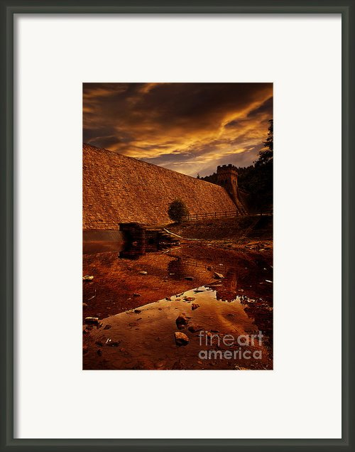 Derwent Overflow Framed Print By Nigel Hatton