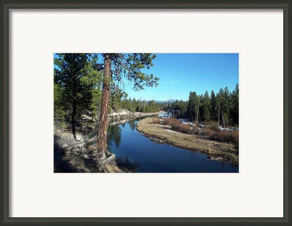Deschutes River Framed Print By Bonnie Bruno