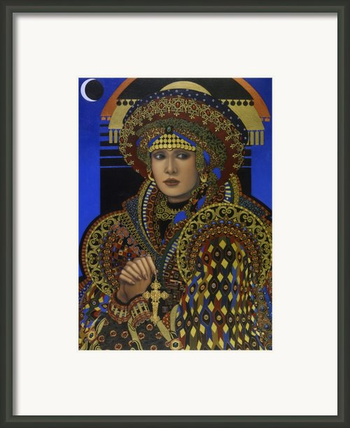 Desdemona Framed Print By Jane Whiting Chrzanoska