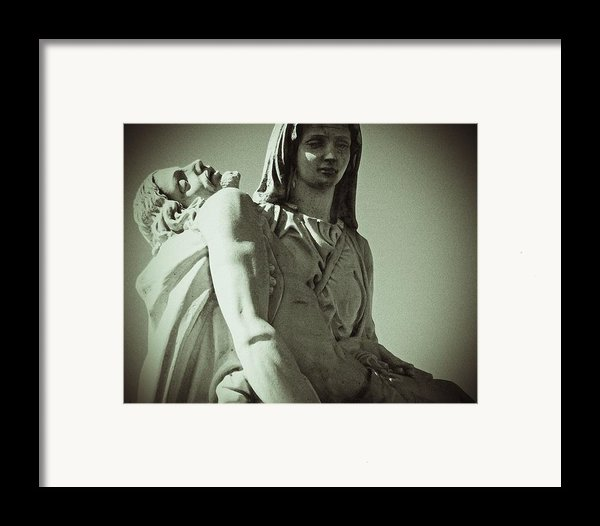 Desend From The Cross Framed Print By Felix Concepcion