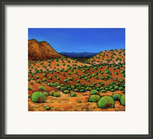 Desert Afternoon Framed Print By Johnathan Harris