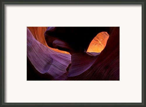 Desert Eye Framed Print By Mike  Dawson