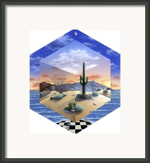 Desert On My Mind 2 Framed Print By Snake Jagger