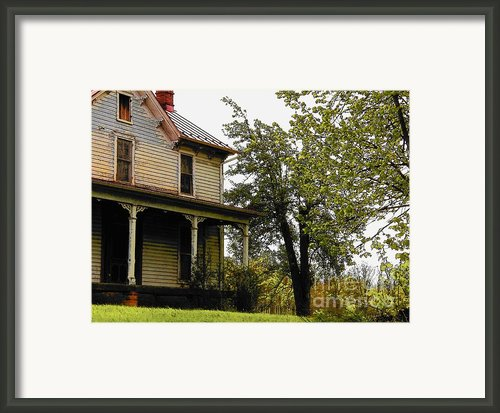 Deserted House In Spring Framed Print By Joyce  Kimble Smith