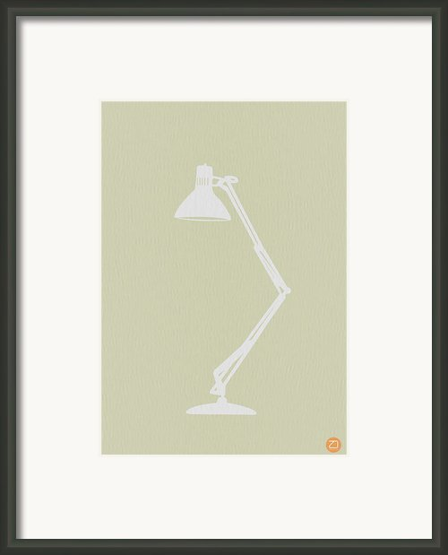 Desk Lamp Framed Print By Irina  March