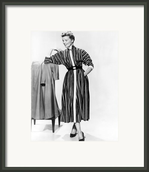Desk Set, Katharine Hepburn, 1957 Framed Print By Everett